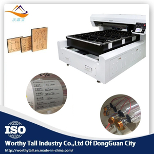 400W Single Head Flat Die Board Laser Cutting Machine for Sale