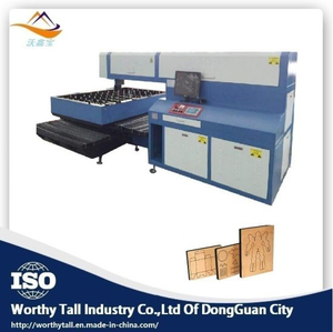 600W High Speed Laser Cutting Machine for Die Cutting